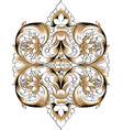 orthodoxy pattern russia vector image vector image