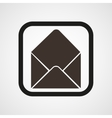 Post open envelope horn icon Simple vector image
