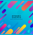 abstract flat dynamic background template vector image