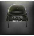 background of military green helmet