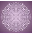 Ornamental round vector image vector image
