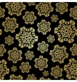 Seamless winter pattern with snowflakes Christmas vector image vector image