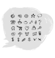Set web icons vector image vector image