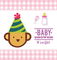 baby shower vector image vector image