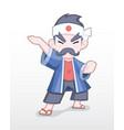 Cute style adult japanese merchant