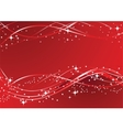 image of red decoration vector image