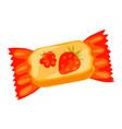 jelly fruit bonbon icon cartoon style vector image vector image