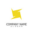 letter s company logo vector image