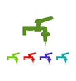 tap icon vector image vector image