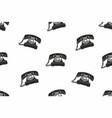vintage phones seamless pattern vector image