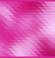 abstract pink colorful geometric background vector image