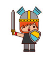 avatar of a video game warrior with sword