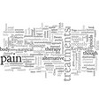back pain treatments vector image vector image