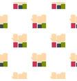 businessmen hands up pattern flat vector image vector image