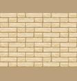cartoon yellow bricks pattern for tiling vector image