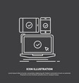 computer devices mobile responsive technology vector image