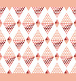 geometry triangle pattern vector image vector image