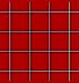 red scottish pattern vector image
