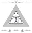 Set of geometric hipster shapes 9znkl72211 vector image vector image