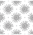 snowflakes seamless pattern light 2 vector image vector image