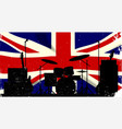 uk rock band vector image vector image