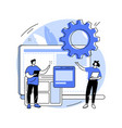 website development abstract concept vector image vector image