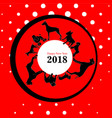 year of the dog vector image