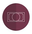 big dollar bill vector image