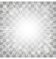 Blurred Sun Rays vector image