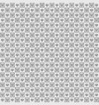 gray checkered heart pattern with dots seamless vector image vector image