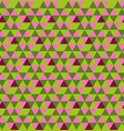 Hexagon from triangles seamless pattern