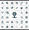 internet icons universal set for web and ui vector image