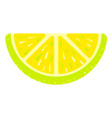 lime jelly icon cartoon style vector image