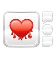 Happy Valentines day romance love heart Bleeding