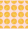 citrus fruit slices hand drawn seamless vector image