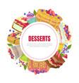 desserts banner template bakery shop cafe