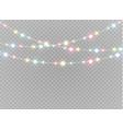 dust white light vector image
