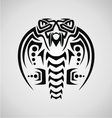King Cobra Tribal vector image vector image
