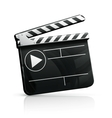 Movie clap vector | Price: 1 Credit (USD $1)