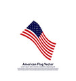 american flag design template icon symbol vector image vector image