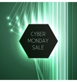 banner for cyber Monday vector image vector image