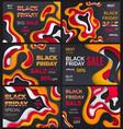 black friday sale best offer of autumn season vector image vector image