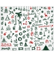 Christmas icons sketch drawing for your design vector | Price: 1 Credit (USD $1)