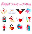 flat with love images vector image vector image