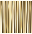 metallic gold background vector image