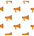 orange loudspeaker pattern flat vector image vector image