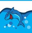 shark image vector image vector image