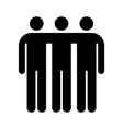 Togetherness symbol vector image