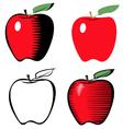apple line variant vector image