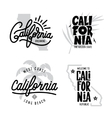 California related t-shirt vintage style graphics vector image vector image